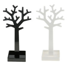 MagiDeal Tree Jewelry Display Stand Earring Necklace Hanger Organizer Holder