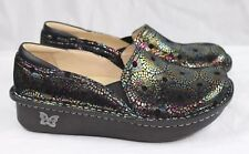 Alegria Professional Debra Spin Dr. Nurses/Doctor/Chef Shoes Leather Clogs