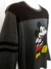 Mickey Mouse Long Sleeve T-shirt DISNEYLAND (S-XL) Official Disney Heather USA!