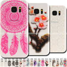 Various Rubber Case Soft TPU Back Cute Silicone Skin Cover For Samsung Galaxy S7