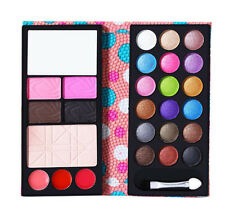 2 blush 18 color Eyeshadow Wallet New Frozen Hot 1 Set 3 Lip Professional Makeup