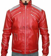"""Michael Jackson Thriller's """"Beat it"""" outfit Leather jacket,All sizes"""