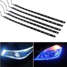 5 pcs 15 LEDs 30cm 5050 SMD LED Strip Light Flexible 12V Car Decor Waterproof AD