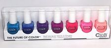 COLOR CLUB Nail Lacquer Nail Polish Sets of 7 Manicure- Pedicure Summer colors