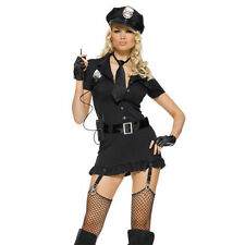 Adult Women's Sexy Dirty Cop Police Officer Costume Leg Ave 83344 s/m m/l xl