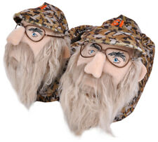 Duck Dynasty Slippers Uncle Si Robertson Plush Slip On Adult Men S M L XL A&E