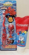 Colgate Kids Toothpaste Bubble Fruit Flavor, Character Toothbrush