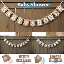 Boy Party Baby Girl 1 Pcs Banner Bunting Cute Decorations Borthday Baby Shower