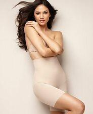 New Miraclesuit Extra Firm Sheer Trim Thigh Slimmer 2789 Nude & Black-asst sizes