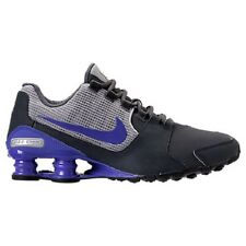 NIKE MENS SHOX AVENUE LEATHER ANTHRACITE BLUE RUNNING SHOES 2017 *FREE POST AUST
