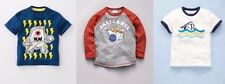 3 NEW Mini Boden MONSTER swimmer BOWLING fast lanes T-SHIRTS tees BOYS 9-10 LOT
