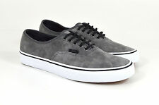 Vans, Authentic Textured Suede, Pewter/Grey, Suede leather, Trainers, Skate, New