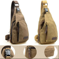 Men's Canvas Messenger Shoulder Bag Crossbody Sling School Bags Satchel FastShip