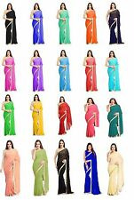 Indian-Ethnic-Party-Wear-Sari-Designer-Bollywood-Wedding-Georgette-Bridal  Saree