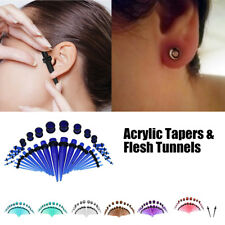 Ear Tapers and Plugs Ear Expander Stretcher O-Ring Stretching Piercing Kit ES