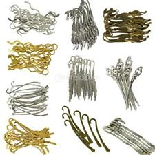 6/10/20pcs Tibetan Silver Beading Bookmarks With Loop For DIY Making Jewelry