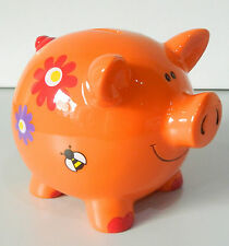 BRIGHT DECORATIVE PGGY BANK CUTE PIG MONEY BOX CUTE FUN GIFT IDEA
