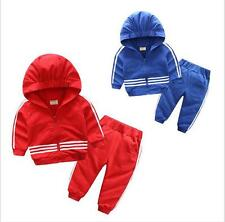 New Style 2Pcs Kids Boys Hoodies Pants Clothing Sets Baby Children Clothes Suit