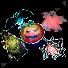 Halloween Light Up Ghost LED Hanging Magnet Decoration Prop Spooky Scary Party