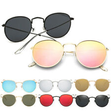 Retro Women Men Round Metal Frame Sunglasses Glasses Vintage Shades Eyewear RT4