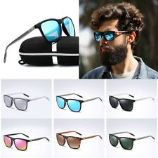 Polarized Mens Womens Retro Vintage Aluminum Aviator Sunglasses Eyewear Shades
