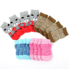 Pet Dog Puppy Warm Socks Knit Indoor Anti Slip Dogs Soft Boots Socks