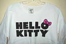 New HELLO KITTY Girl's Kid's T-SHIRT TEE  Old Navy  L White Kimono