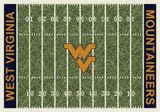 West Virginia Mountaineers Football Field Rug