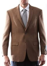 Prontomoda Italia, Men's Wool Cashmere Light Brown Sport Coat #J49012C-49077-LBR
