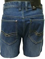RK Icon Jeans mens blue straight fit light wash distress jeans