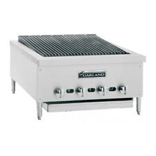 Garland GTBG36-NR36, 36-Inch Wide Heavy-Duty Gas Counter Char-Broiler with Non-A
