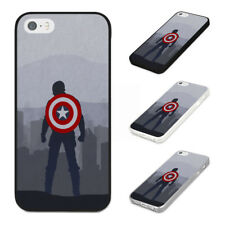 CAPTAIN AMERICA SHIELD MARVEL COMICS Rubber Phone Case Cover Fits Iphone Models