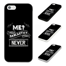 FUNNY SARCASTIC HUMOUR Rubber Phone Case Cover Fits Iphone Models