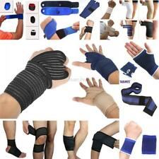 AU Adjustable Elbow/Wrist/Knee/Hand/Thigh/Calf  Support Brace Strap Gym Protect