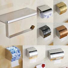 Polished Stainless Steel Wall Mount Toilet Bathroom Roll Paper Tissue Holder Box