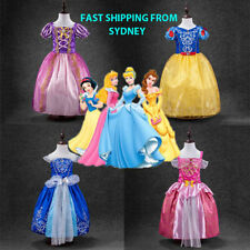 Kids Girls Clothes Disney Elsa Frozen Dress costume Princess Anna party dresses