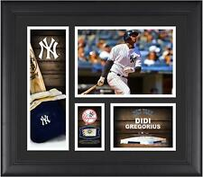 Didi Gregorius NY Yankees Framed 15x17 Player Collage with a Game Ball Piece