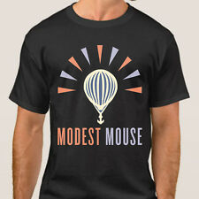 New MODEST MOUSE Logo Indie Rock Band Men's Black T-Shirt Size S to 3XL