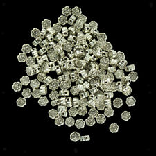 Metal Loose Spacer Beads Jewelry Making 20/50/100pcs Wholesale Findings Crafts