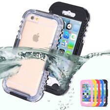 Heavy Duty Waterproof Case For Apple iPhone 6/6S/Plus/5S