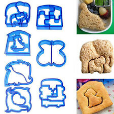 Bread Cookies Kids Biscuit Toast Cutter Mould Cake Sandwich Home 1 Pcs Lunch