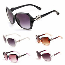 Retro Stylish Womens Big Oversized Vintage Designer Eyewear Sunglasses Shades ty