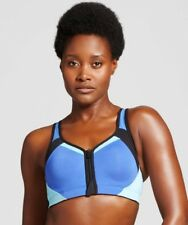 C9 Champion Womens Blue Power Shape Max Support Motion Control Sports Bra - NWT