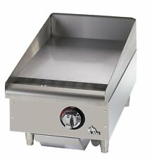 Star Manufacturing 615MF, 15-Inch Countertop Gas Griddle, NSF UL, CSA, CGA