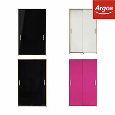 HOME New Sywell 2 Door Sliding Wardrobe - Choice of Colour -From Argos on ebay