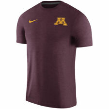 Limited Nike Dri-FIT 2017 NCAA Minn Golden Gophers Sideline Coaches Touch Shirt