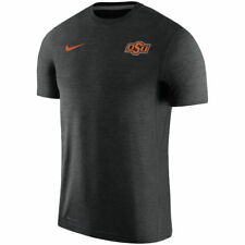 Limited Nike Dri-FIT 2017 NCAA Oklahoma St Cowboys Sideline Coaches Touch Shirt
