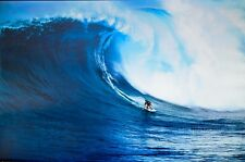 LET'S GO SURFING GIANT WAVE POSTER (61x91cm)  PICTURE PRINT NEW ART