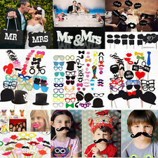 Wedding Photo Booth Props Bachelorette Party Birthday Decorations Supplies DIY