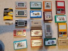 Nintendo Game and Watch Collection (18 in total)
